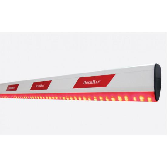 Стрела алюминиевая для шлагбаума BARRIER-5000 (DOORHAN) c подсветкой